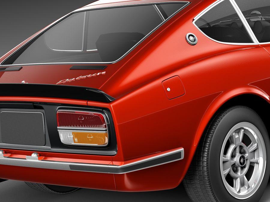 Datsun 240z 1969–1978 royalty-free 3d model - Preview no. 4
