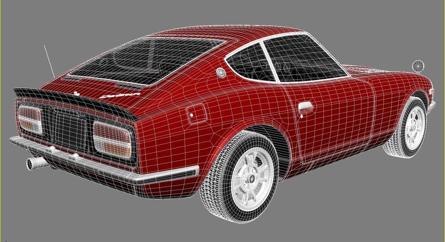 Datsun 240z 1969–1978 royalty-free 3d model - Preview no. 14