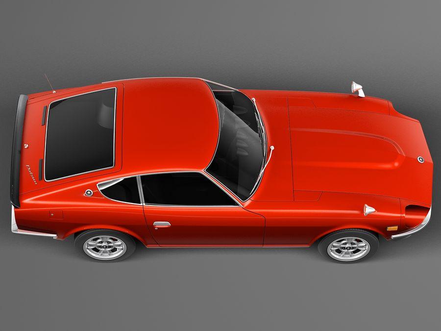 Datsun 240z 1969–1978 royalty-free 3d model - Preview no. 8