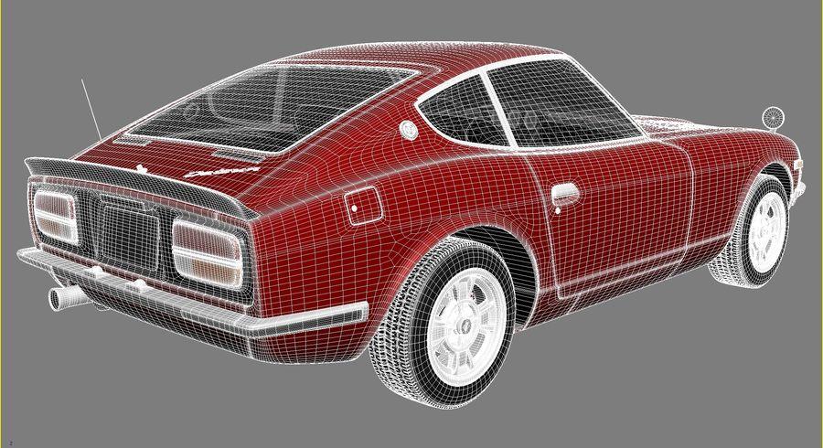 Datsun 240z 1969–1978 royalty-free 3d model - Preview no. 15