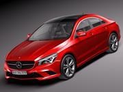 Mercedes-Benz CLA-class 2014 3d model