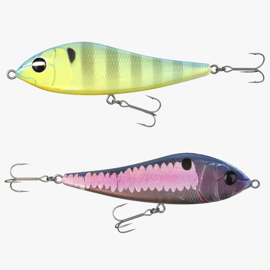 Fishing Lure 01 royalty-free 3d model - Preview no. 1