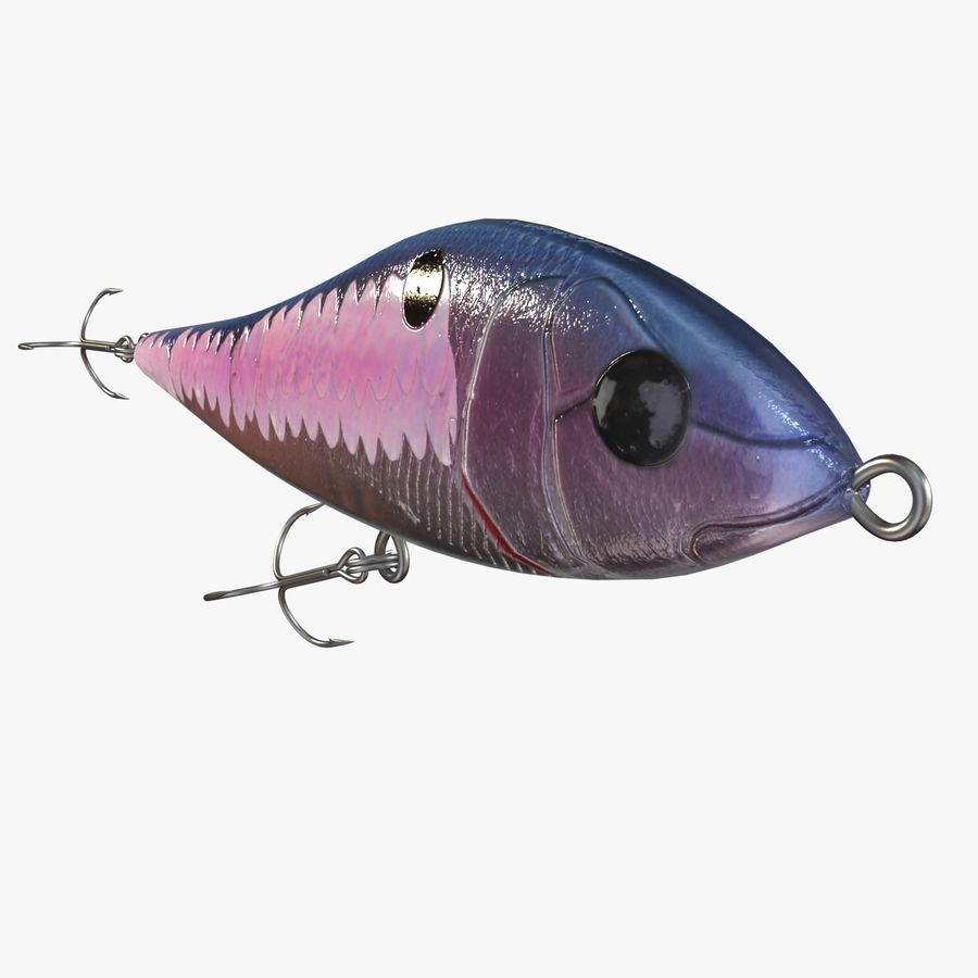 Fishing Lure 01 royalty-free 3d model - Preview no. 10