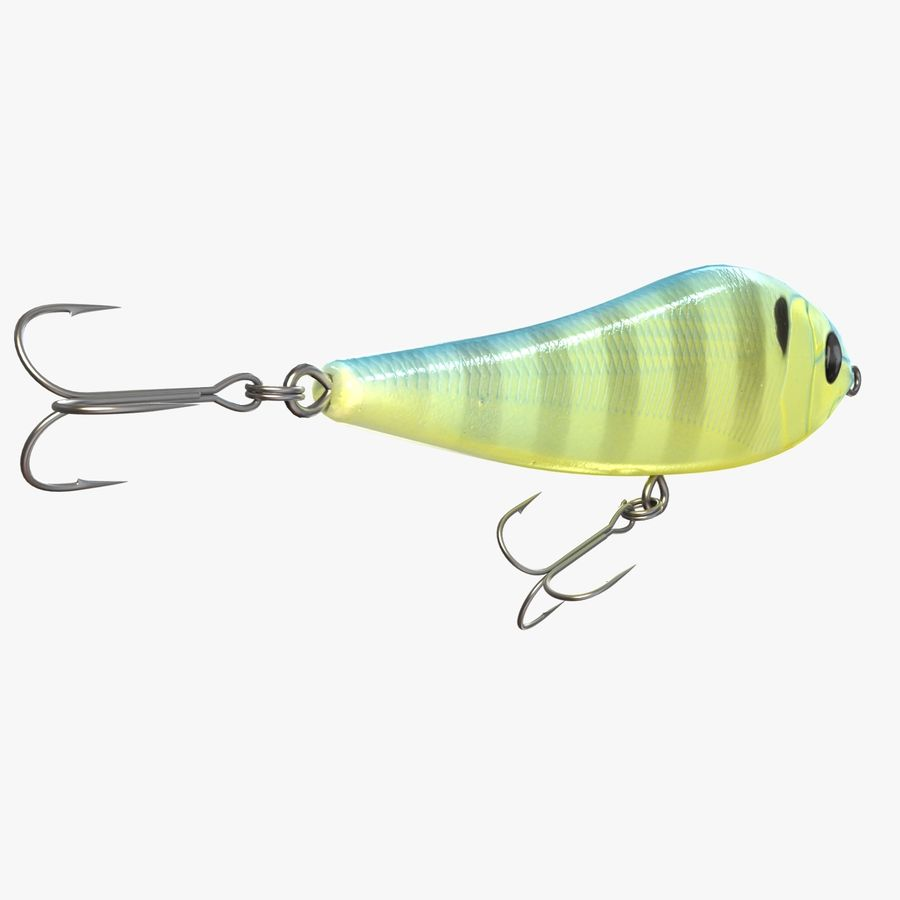 Fishing Lure 01 royalty-free 3d model - Preview no. 6