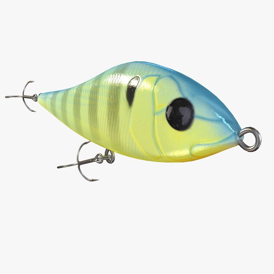 Fishing Lure 01 royalty-free 3d model - Preview no. 5
