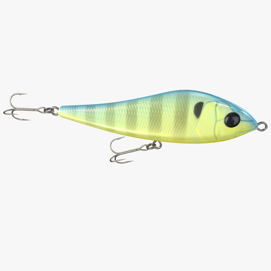 Fishing Lure 01 royalty-free 3d model - Preview no. 4