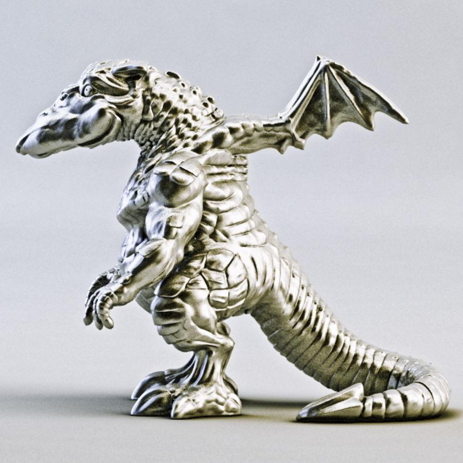 Dragon 3D Printable royalty-free 3d model - Preview no. 1