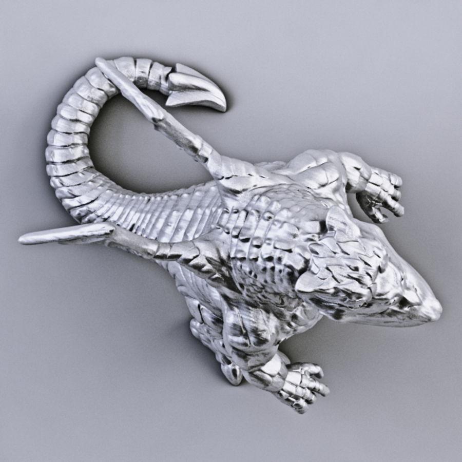 Dragon 3D Printable royalty-free 3d model - Preview no. 3