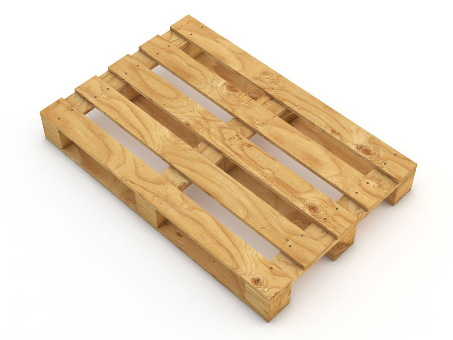 Pallet and Breeze Block royalty-free 3d model - Preview no. 10