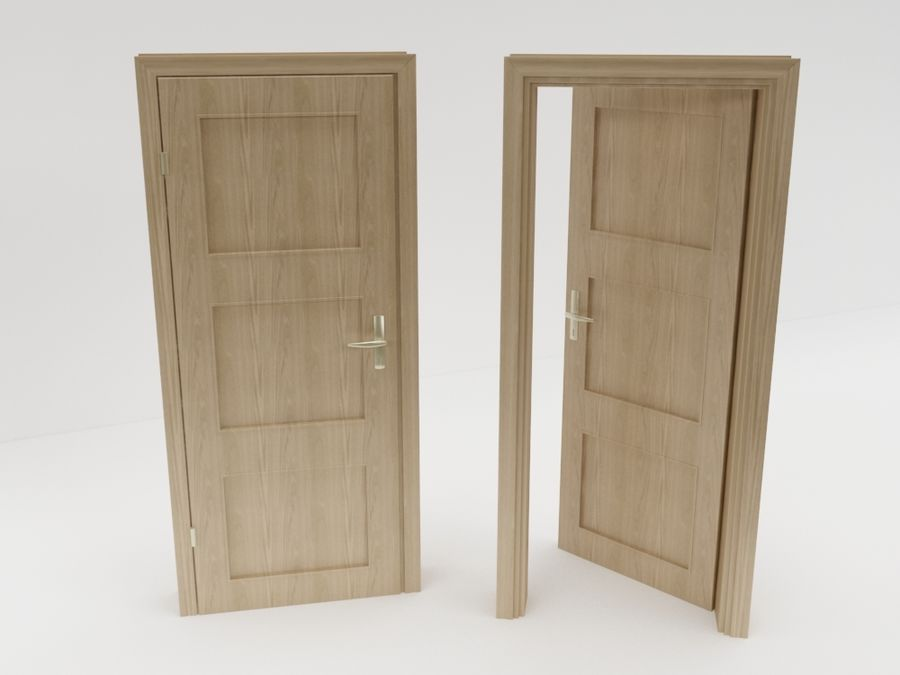 door,architecture royalty-free 3d model - Preview no. 1