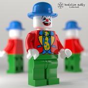 Lego Clown Figure 3d model
