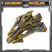 SciFi_CR4 3d model