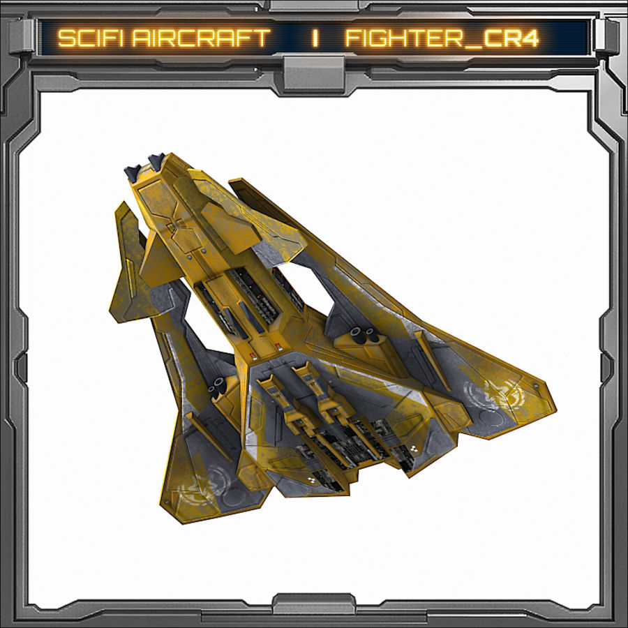 SciFi_CR4 royalty-free 3d model - Preview no. 4
