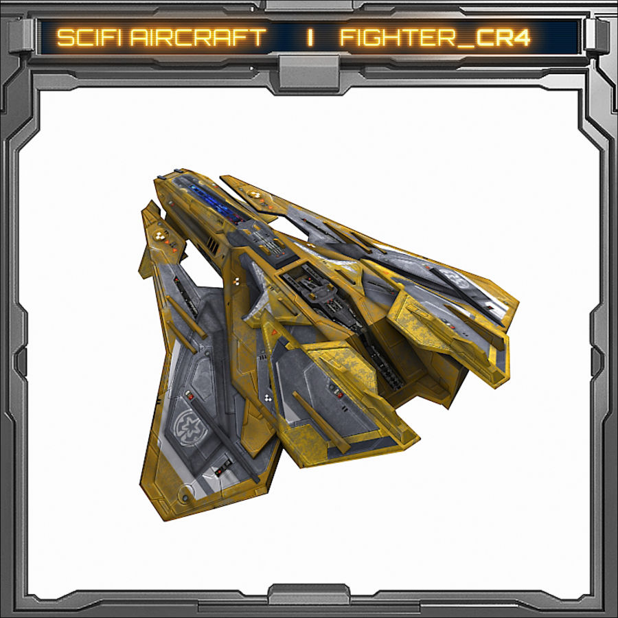 SciFi_CR4 royalty-free 3d model - Preview no. 5