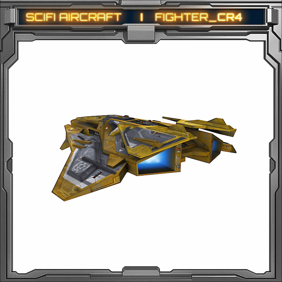 SciFi_CR4 royalty-free 3d model - Preview no. 6