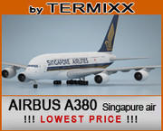 Airbus A380 Singapure Airlines 3d model