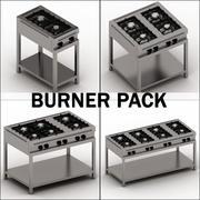 Burner pack 3d model