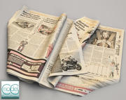 newspaper Gazzetta dello sport 5 3d model