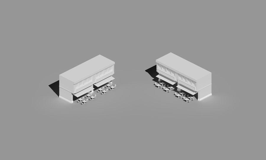 Prata House royalty-free 3d model - Preview no. 3