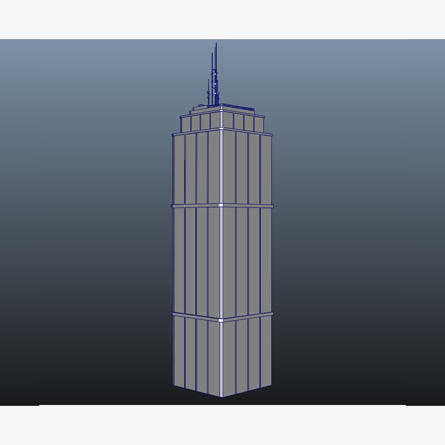 Skyscraper 03 - Day And Night royalty-free 3d model - Preview no. 18