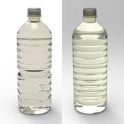 Бутылка с водой 3d model