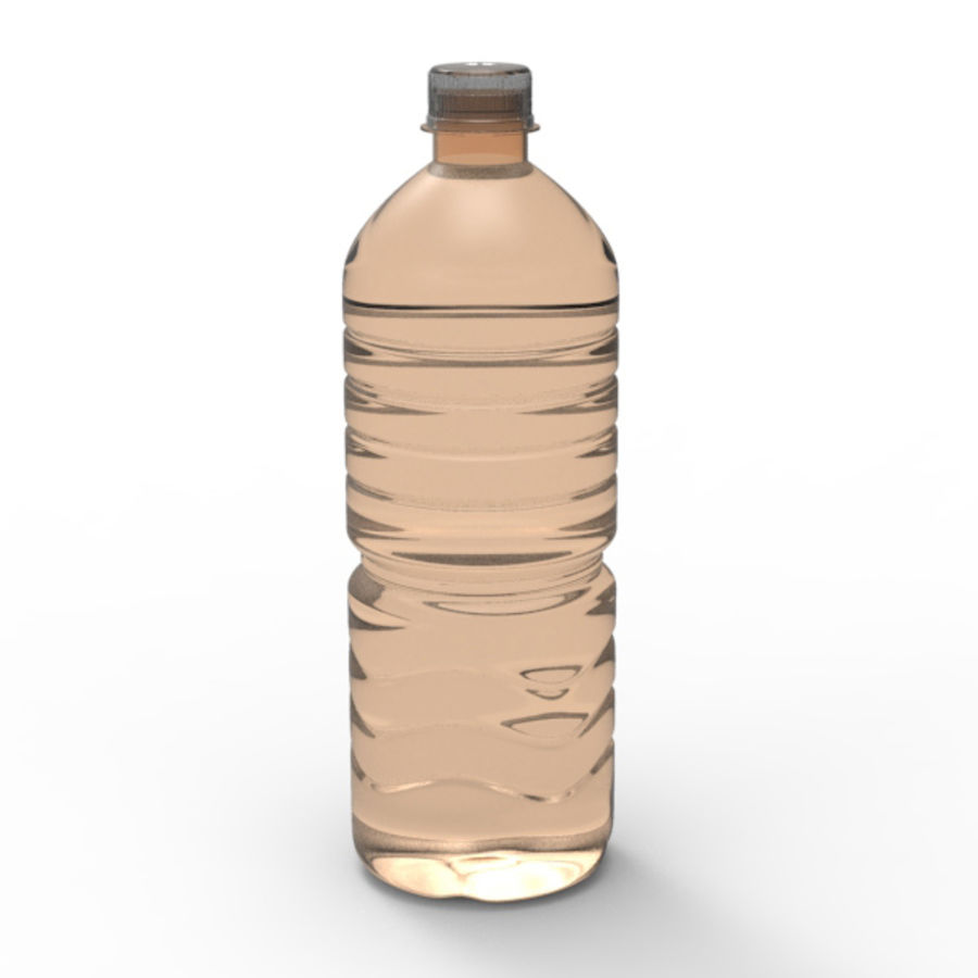 Water bottle royalty-free 3d model - Preview no. 8
