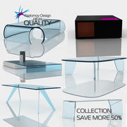Tables Glas Italia Collection 3d model