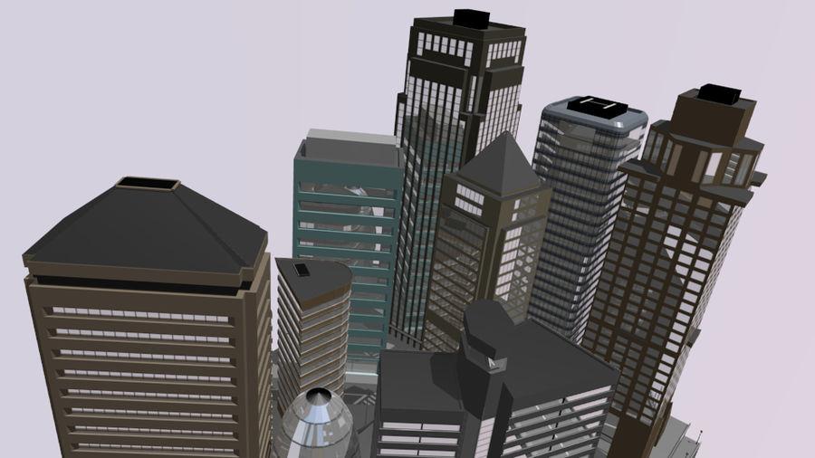 paisaje urbano royalty-free modelo 3d - Preview no. 8