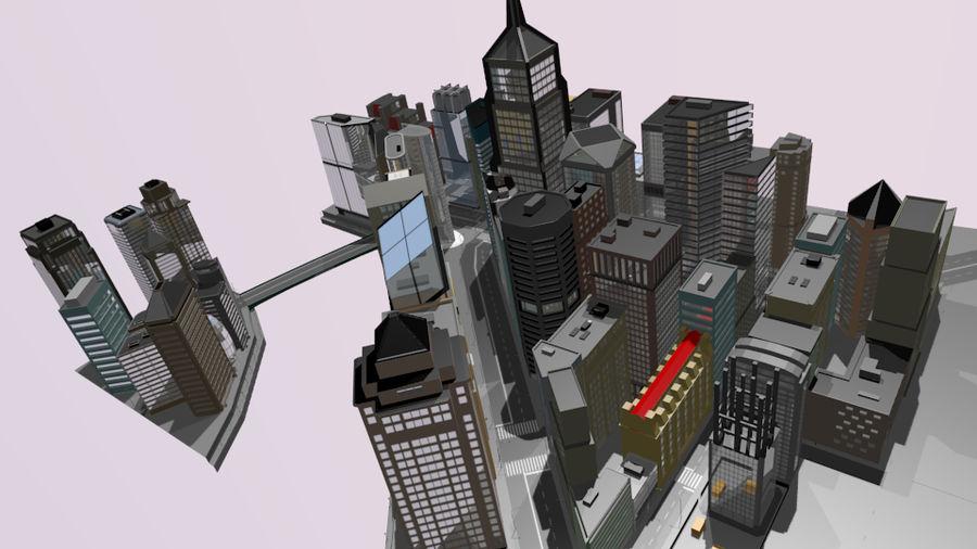 paisaje urbano royalty-free modelo 3d - Preview no. 18