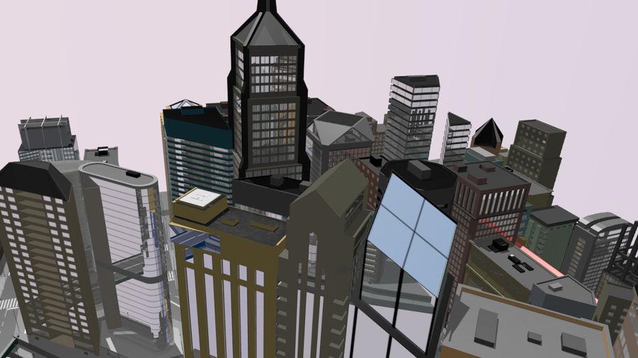 paisaje urbano royalty-free modelo 3d - Preview no. 2