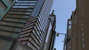 cityscape 3d model