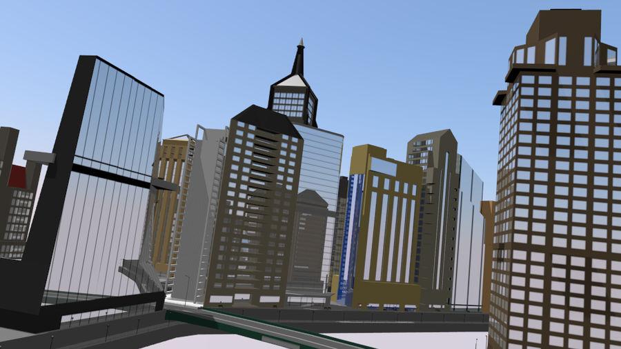 paisaje urbano royalty-free modelo 3d - Preview no. 3