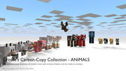 [Minecraft] Animals - Crinkle CCC - In Minecraft manipulierte Modelle 3d model