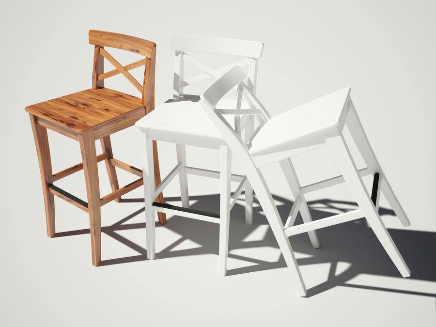 Ikea ingolf modello 3d $13 .max .fbx .obj free3d