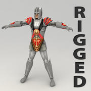 Fantasy hero 2 3d model