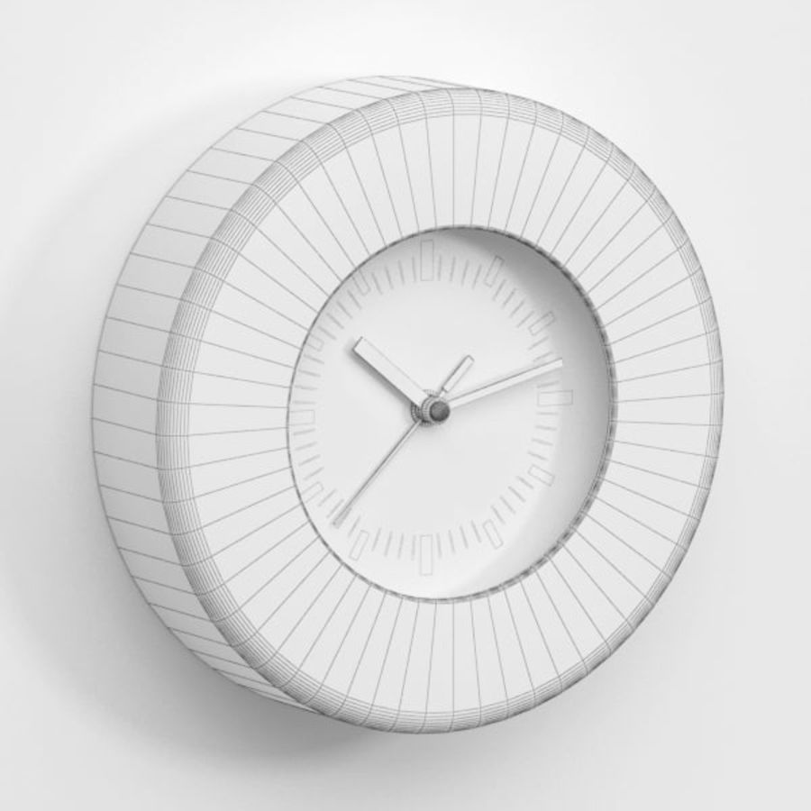 Clock043 royalty-free 3d model - Preview no. 5