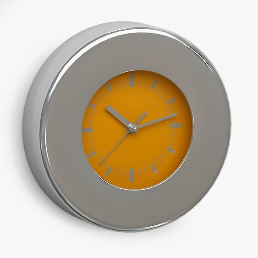 Clock043 royalty-free 3d model - Preview no. 1