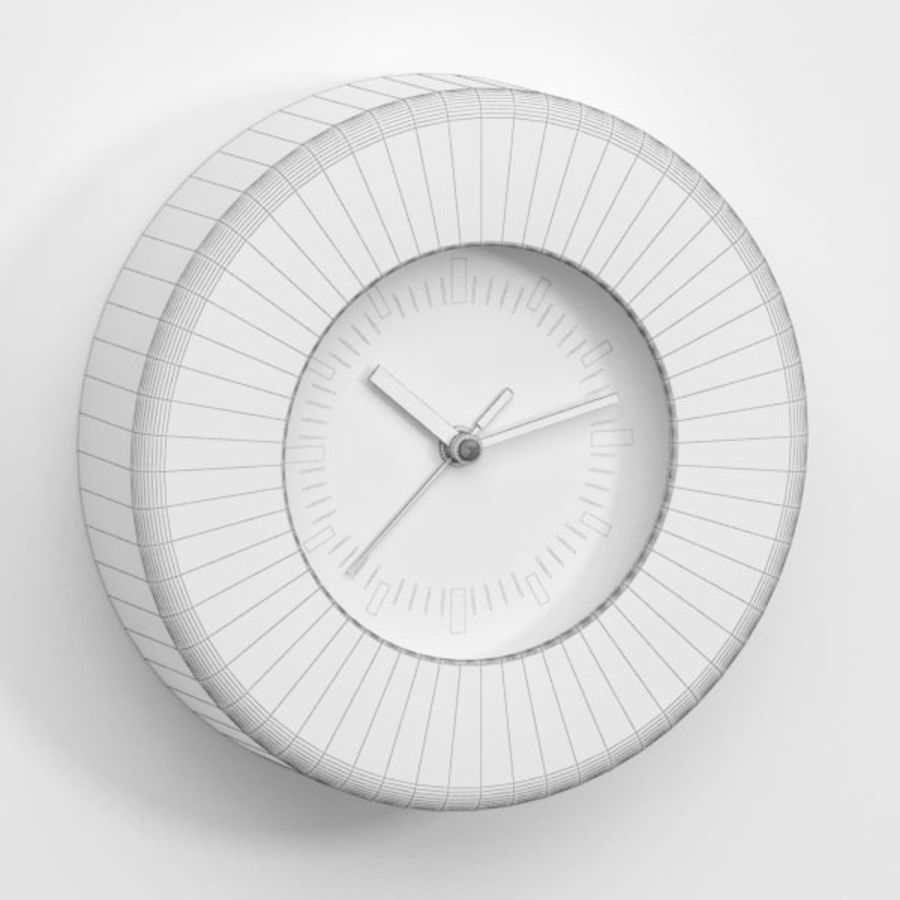 Clock043 royalty-free 3d model - Preview no. 4