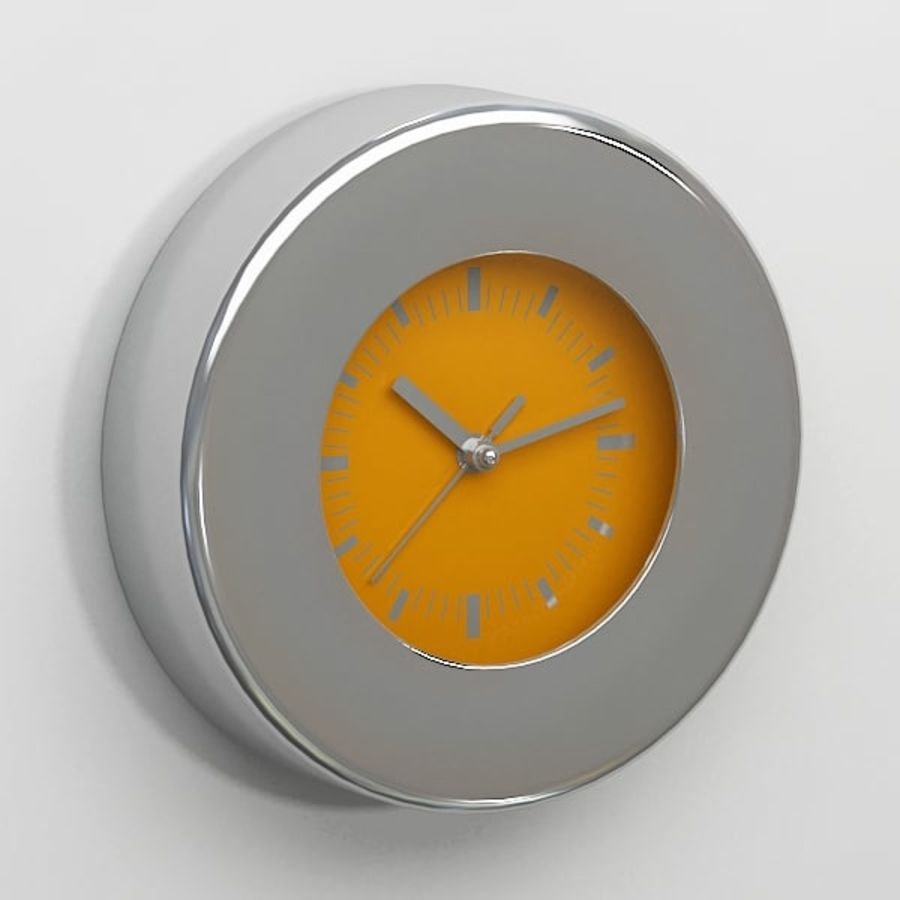 Clock043 royalty-free 3d model - Preview no. 3