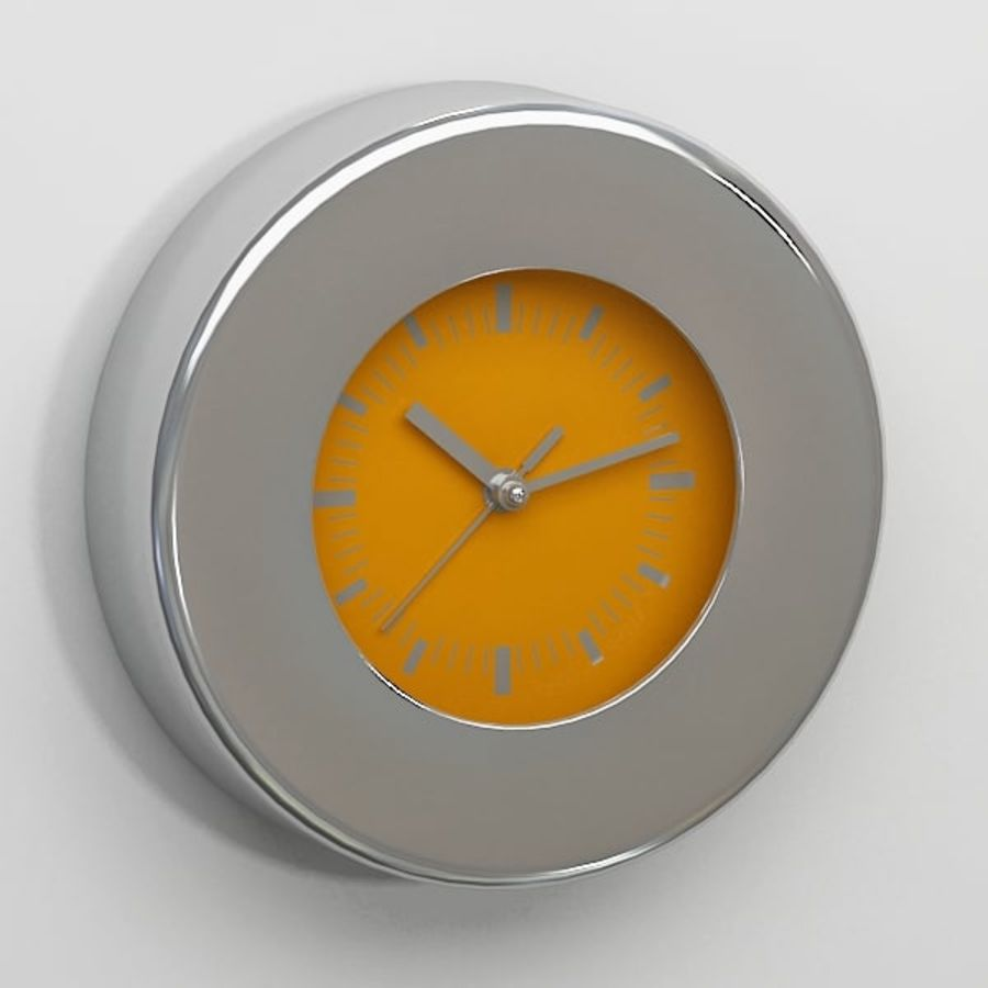 Clock043 royalty-free 3d model - Preview no. 2