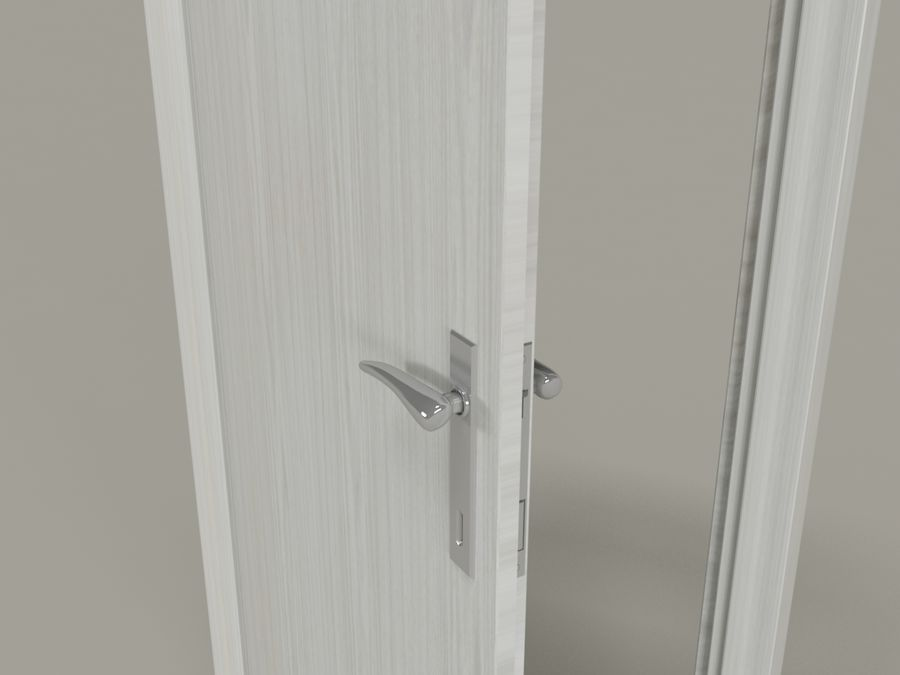 door white royalty-free 3d model - Preview no. 2 & Door white 3D Model $2 - .oth .max - Free3D