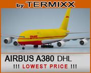 Airbus A380 DHL 3d model