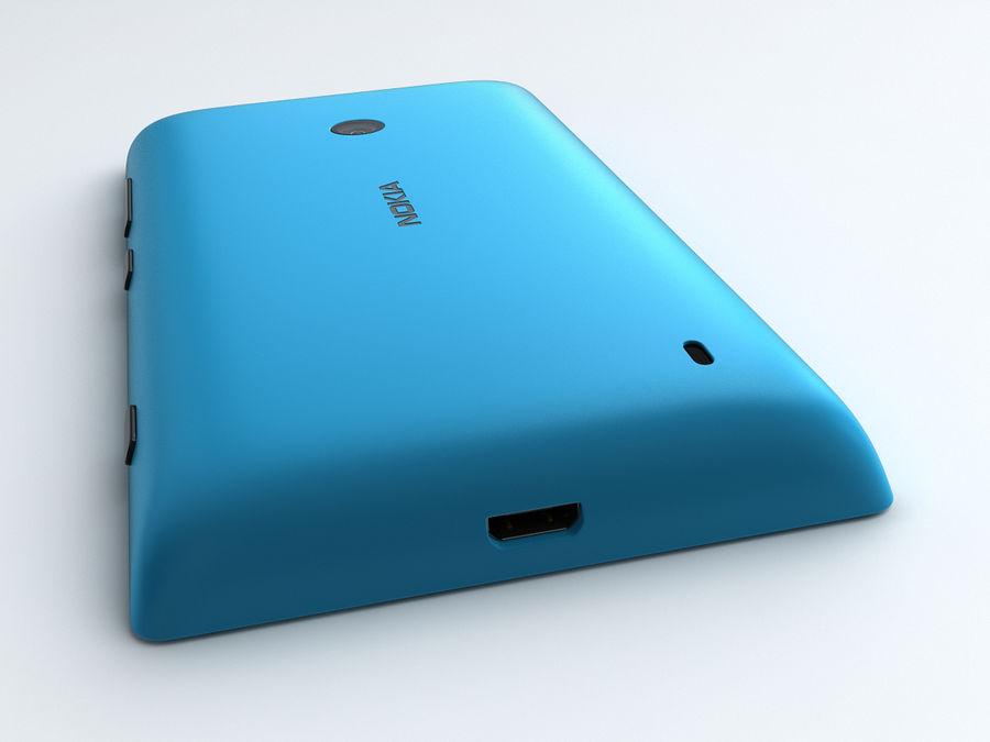 Nokia Lumia 520 royalty-free 3d model - Preview no. 13