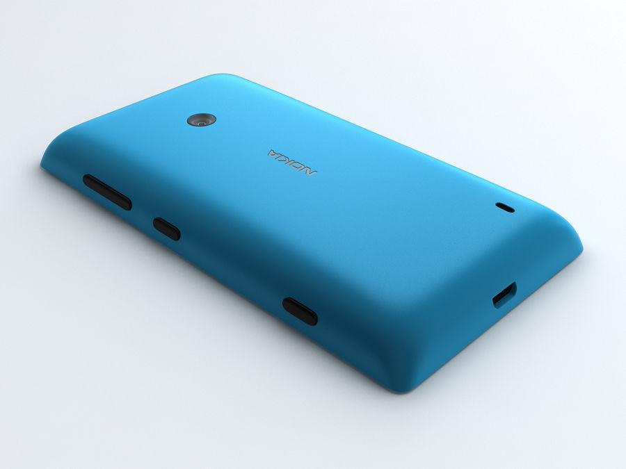 Nokia Lumia 520 royalty-free 3d model - Preview no. 9