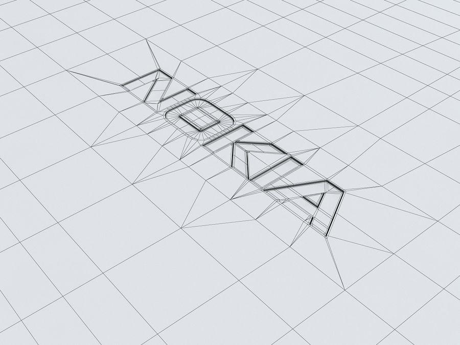 Nokia Lumia 520 royalty-free 3d model - Preview no. 36