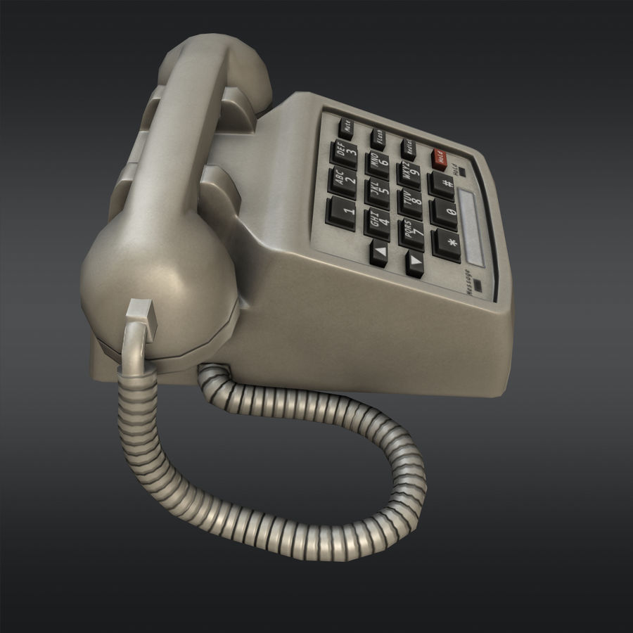 Phone 01 royalty-free 3d model - Preview no. 2