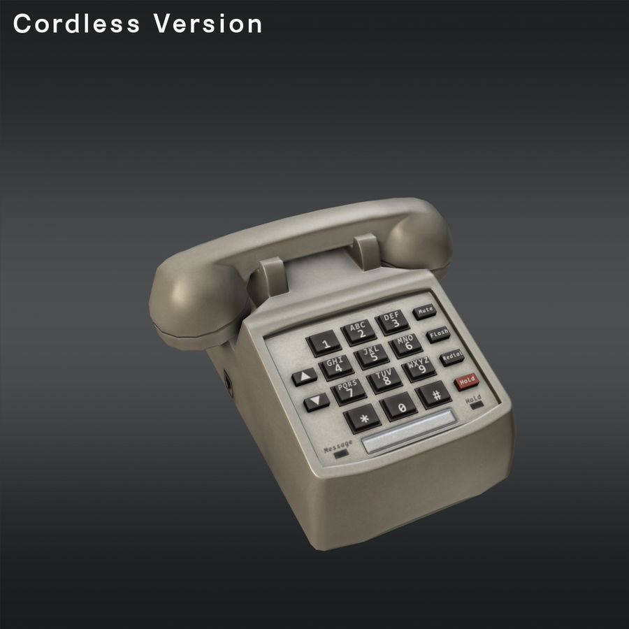 Phone 01 royalty-free 3d model - Preview no. 6