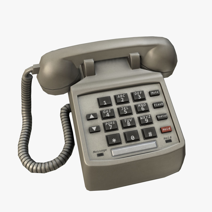 Phone 01 royalty-free 3d model - Preview no. 1