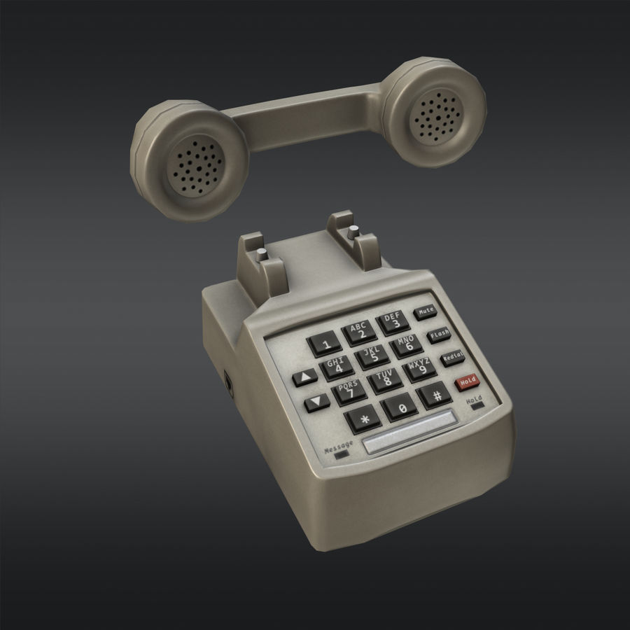 Phone 01 royalty-free 3d model - Preview no. 7