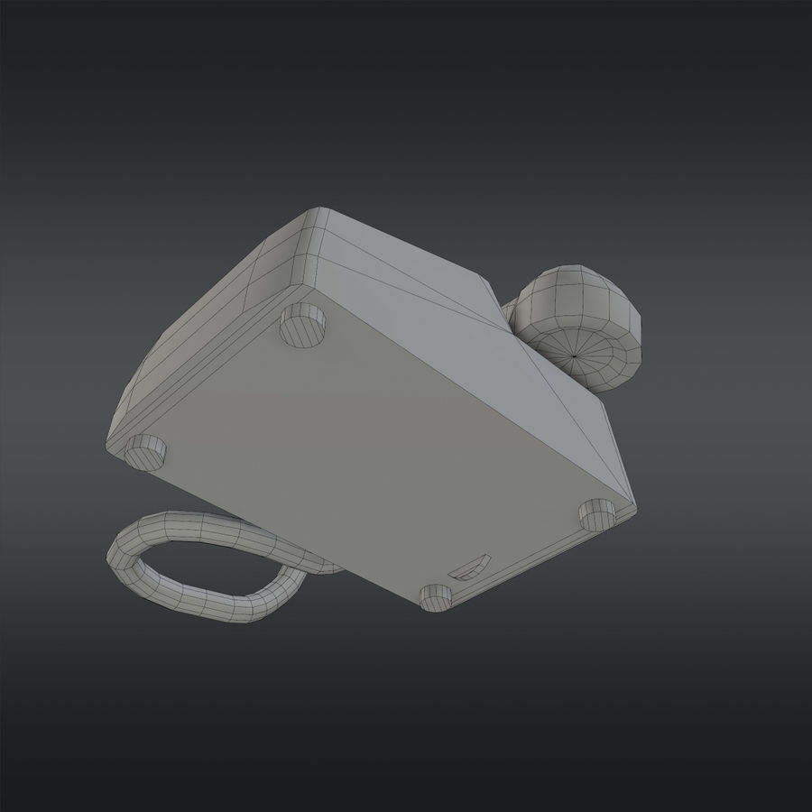 Phone 01 royalty-free 3d model - Preview no. 9